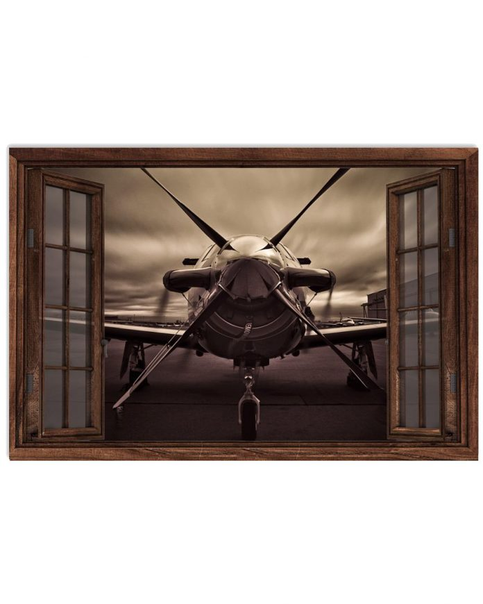 Aircraft-Front-Window-Poster