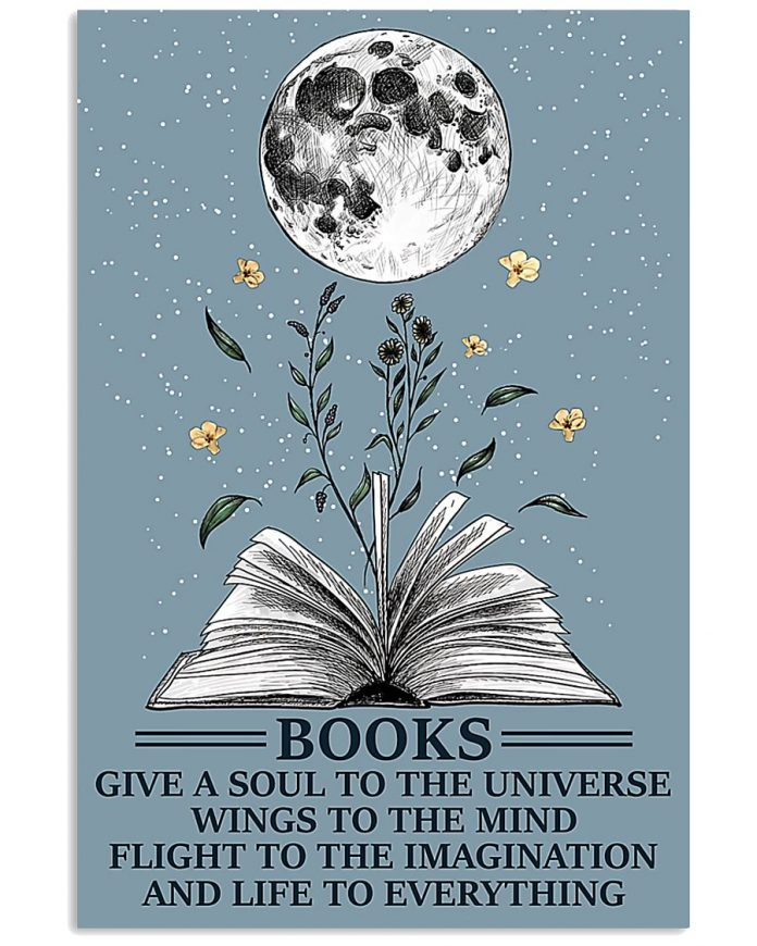 Books-Give-A-Soul-To-The-Universe-Poster