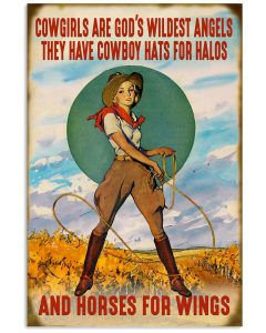 Cowgirls-are-gods-wildest-angels-they-have-cowboy-hats-for-halos-and-horses-for-wings-posterz