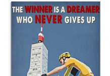 Cycling-The-winner-is-a-dreamer-who-never-give-up-poster