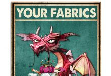 Dragon-your-fabrics-my-lady-poster
