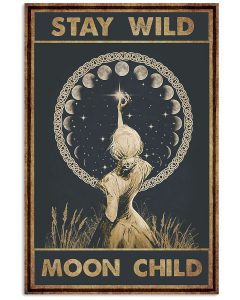 Girl-Stay-wild-moon-child-Poster