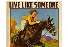 Girl-ride-Hourse-Live-like-Someone-Left-The-Gate-Open-Poster