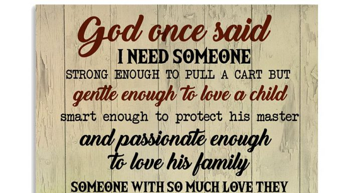 Golden-Retriever-God-once-said-I-need-someone-strong-enough-to-pull-a-cart-but-gentle-enough-to-love-a-child-poster