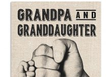 Grandpa-and-granddaughter-best-partners-in-crime-for-life-poster