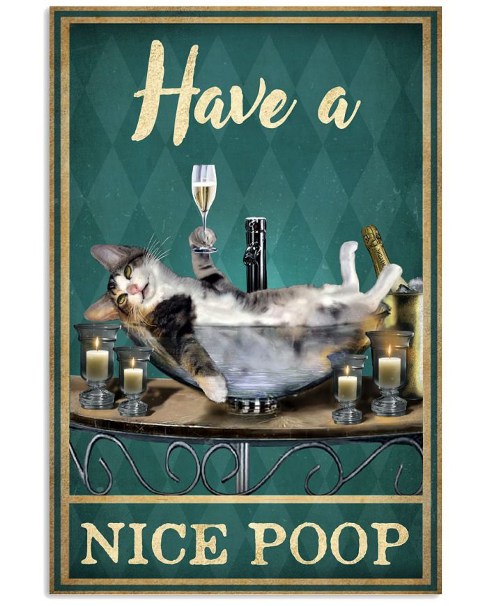 Have-a-nice-poop-cat-poster