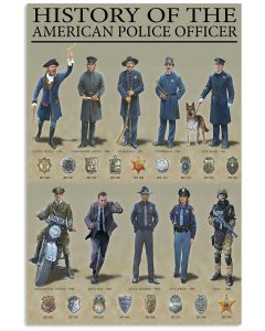History-Of-The-American-Police-Officer-Poster