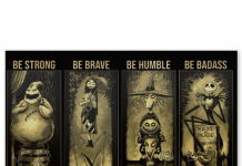 Horror-Movie-Characters-Be-strong-when-you-are-weak-Be-brave-when-you-are-scared-poster-600x635