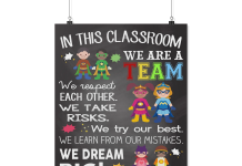 In-this-classroom-we-are-a-team-poster-2