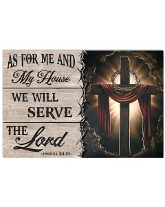 Jesus-As-for-me-and-my-house-we-will-serve-the-lord-poster