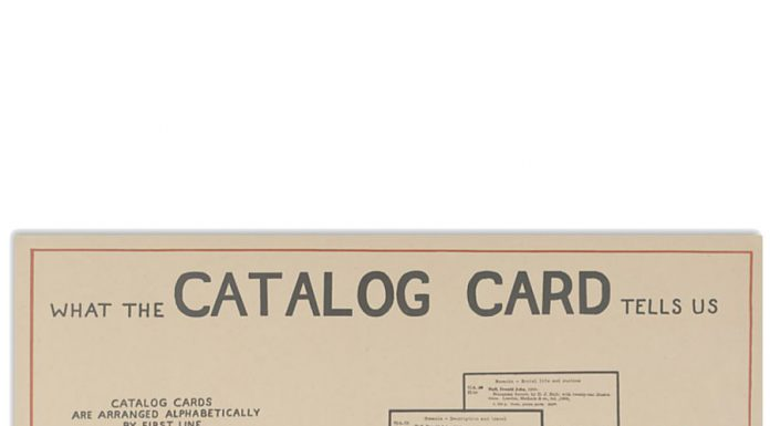 Librarian-What-the-catalog-card-tells-us-poster