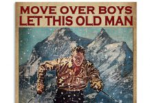 Move-over-boys-let-this-old-man-show-you-how-to-ski-poster