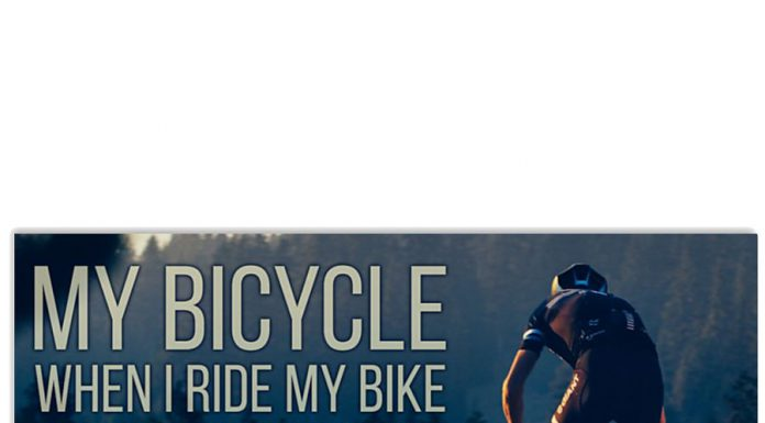 My-bicycle-when-I-ride-my-I-feel-free-and-happy-and-strong-poster
