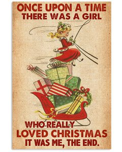 Once-upon-a-time-there-was-a-girl-who-really-loved-Christmas-poster