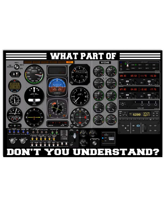 Pilot-Cockpit-What-Part-Of-Dont-You-Understand-Poster
