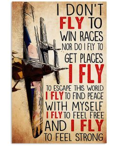 Pilot-I-dont-fly-to-win-races-nor-do-I-fly-to-get-places-poster