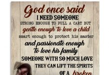 Pitbull-God-once-said-I-need-someone-strong-enough-to-pull-a-cart-poster