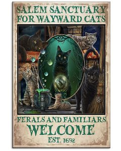 Salem-Sanctuary-For-Wayward-Cats-Welcome-Est-1692-Poster