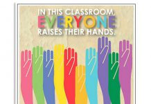 Teacher-In-This-Classroom-Everyone-Raises-Their-Hands-Poster-510x638
