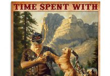 Time-spent-with-motorcycles-and-dogs-is-never-wasted-poster