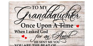 To-my-daughter-Once-upon-a-time-when-I-asked-God-for-an-Angel-poster