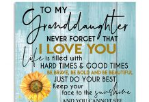 To-my-granddaughter-Never-forget-that-I-love-you-Sunflower-poster
