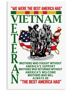 We-were-the-best-America-had-Vietnam-Veteran-poster