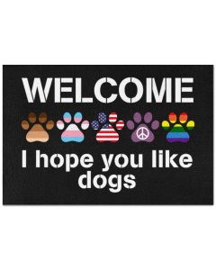 Welcome-I-hope-you-like-dogs-doormat