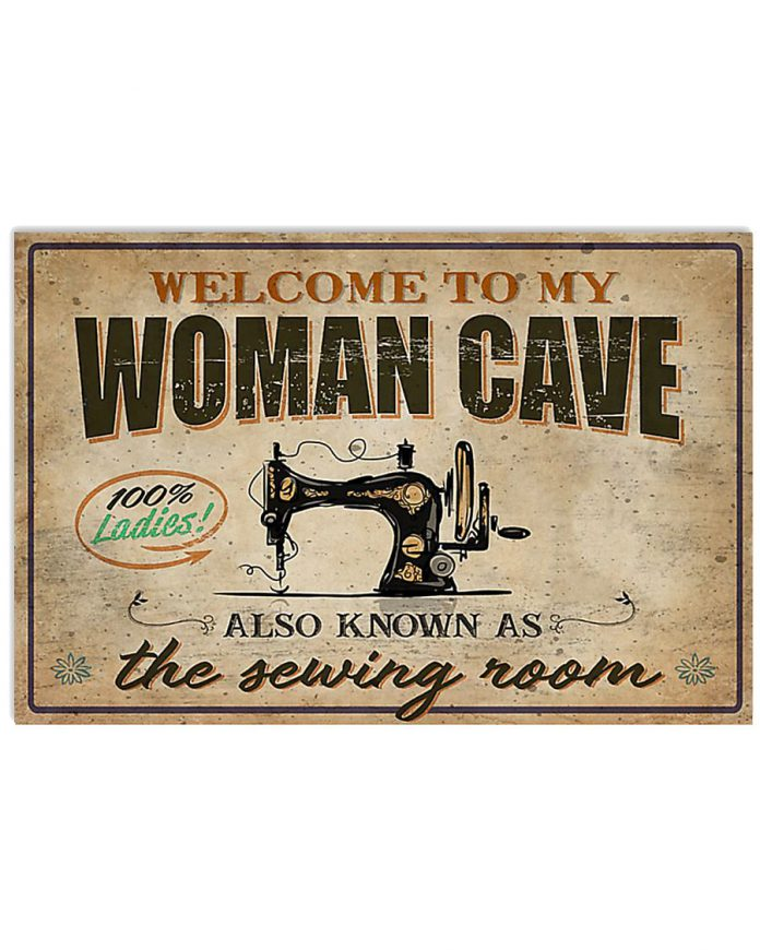 Welcome-to-my-woman-cave-also-know-as-the-sewing-room-poster