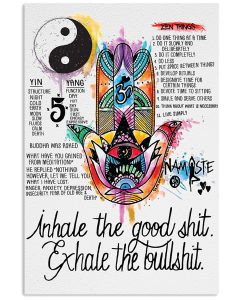 Yoga-Inhale-the-goodshit-exhale-the-badshit-poster