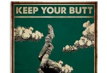 Yoga-Keep-Your-Butt-In-The-Sky-Poster