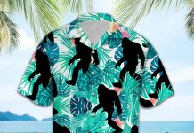 Bigfoot-Tropical-Hawaiian-shirt