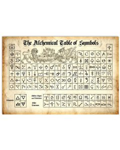 Chemistry-The-Alchemical-Table-Of-Symbols-Poster