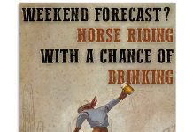 Horse-Riding-Weekend-Forecast-Poster