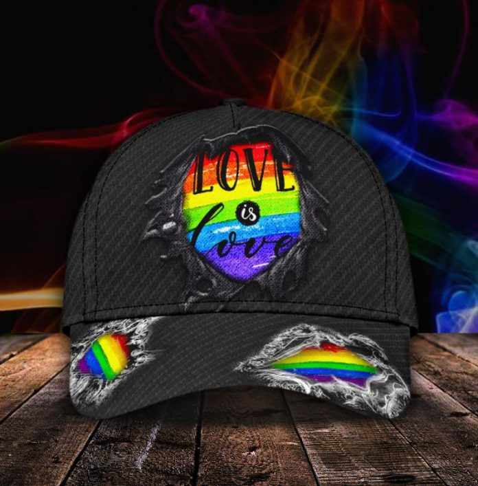 LGBT-Love-Is-Love-3D-Cap