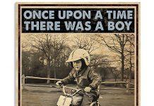 Once-Upon-A-Time-There-Was-A-Boy-Who-Really-Loves-Motorcross-And-Dogs-Poster