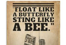 Sting-Like-A-Bee-Boxing-Poster