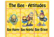 Teacher-The-Bee-Attitudes-Poster
