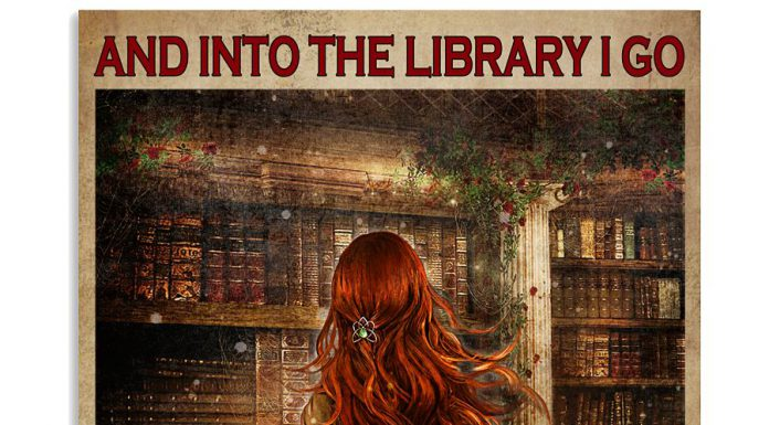 And-Into-The-Library-I-Go-To-Lose-My-Mind-Poster
