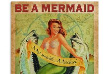 Be-A-Mermaid-And-Make-Waves-Poster