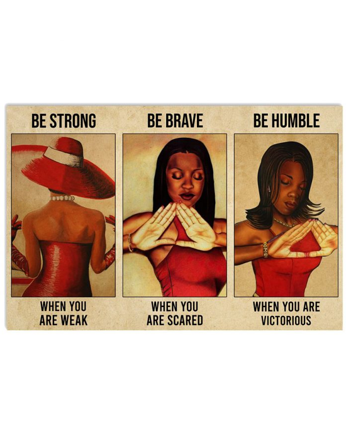 Delta-Girl-Be-Strong-When-You-Are-Weak-Poster