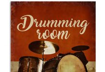 Drumming-Room-I-Destroy-Silence-Poster