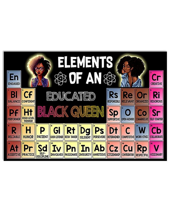 Elements-Of-An-Educated-Black-Queen-Poster