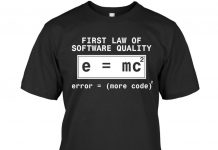 First-Law-Of-Software-Quality-Shirt
