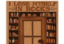 I-Lose-Myself-In-Books-Because-Reality-Is-A-Mess-Poster