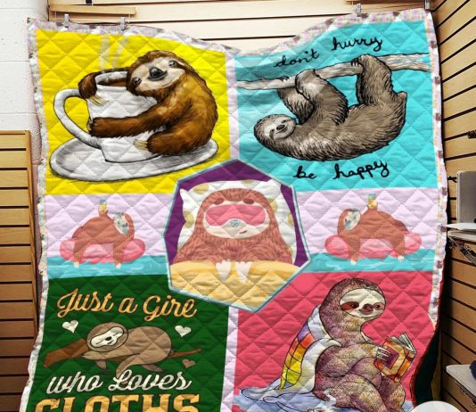 Just-A-Girl-Who-Loves-Sloths-Quilt