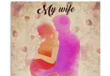My-Wife-Pregnant-Sometimes-Its-Hard-To-Find-Words-Words-To-Tell-You-Poster