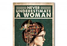 Never-Underestimate-A-Woman-Who-Loves-Reading-Books-Poster
