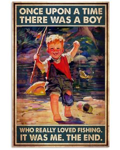 Once-Upon-A-Time-There-Was-A-Boy-Who-Really-Loved-Fishing-Poster