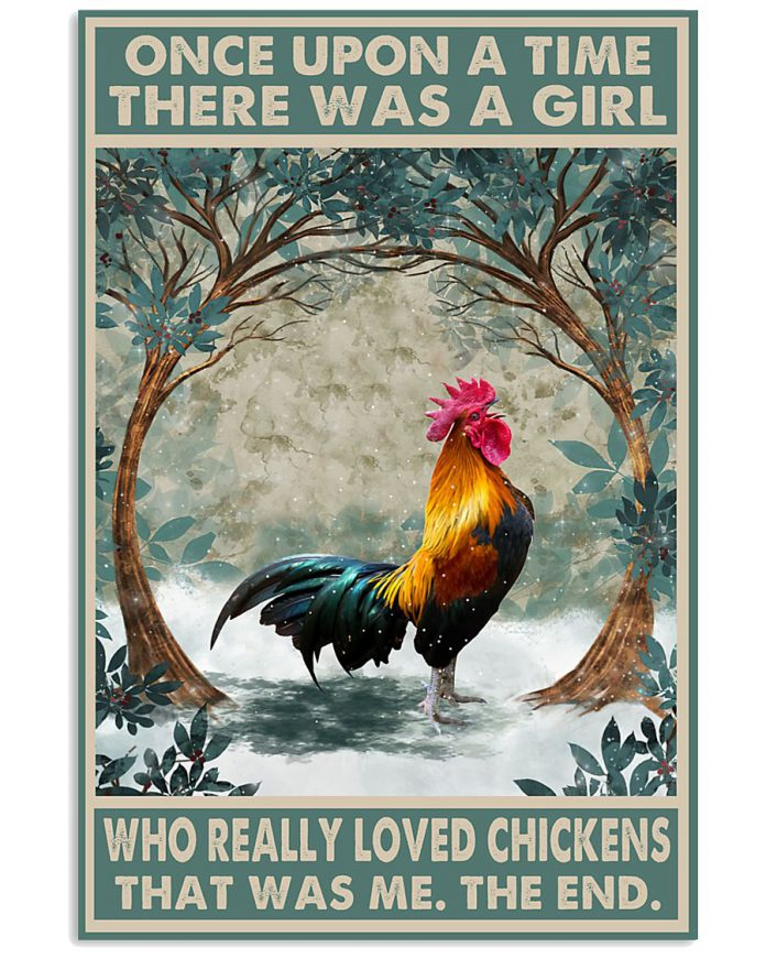 Once-Upon-A-Time-There-Was-A-Girl-Who-Really-Loved-Chickens-Poster